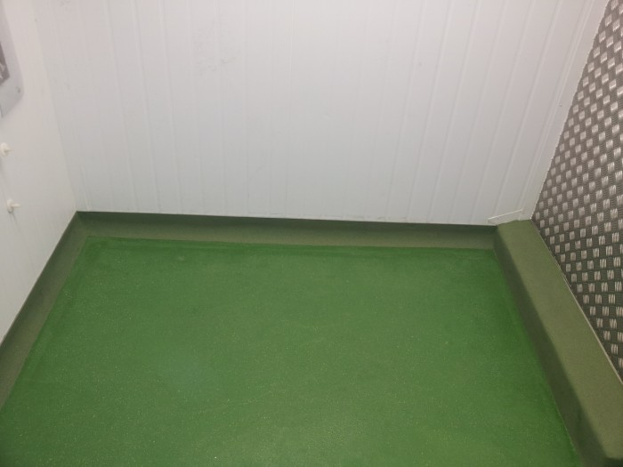 polyurethane floor and cove