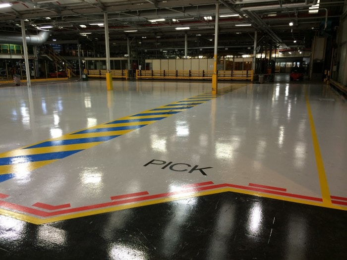 specialist coatings - impact flooring