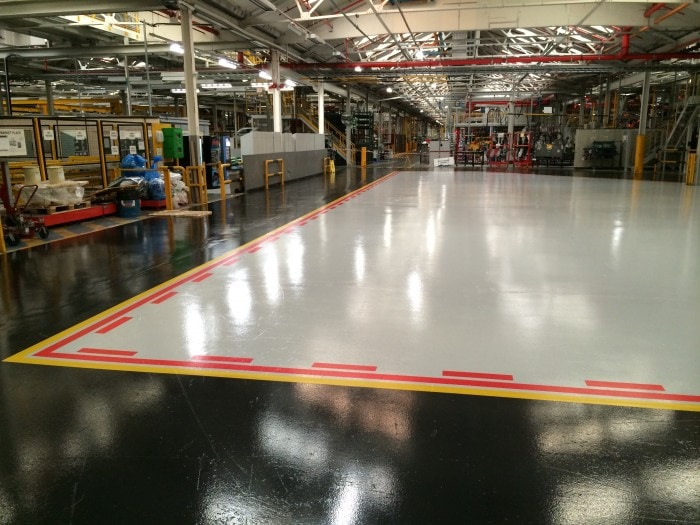 epoxy floor coating - impact flooring