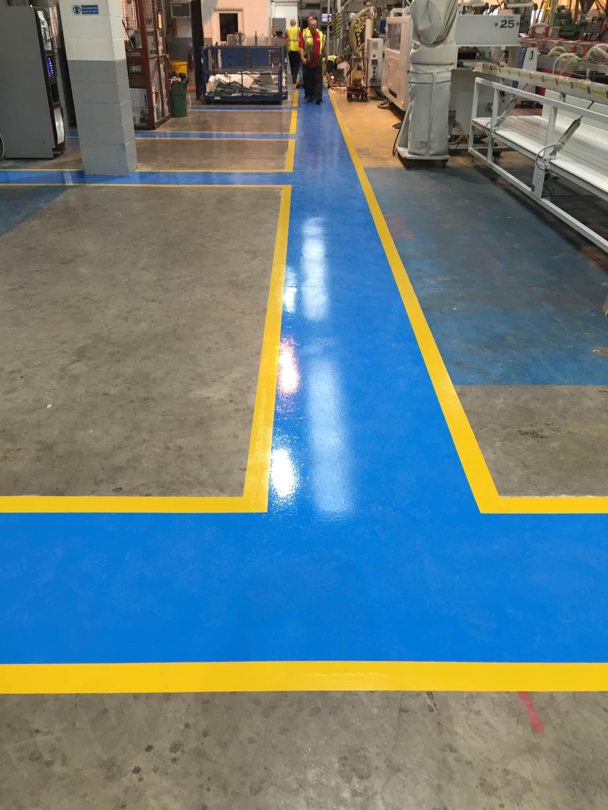 Industrial flooring for high traffic areas impact flooring for Carpet for high traffic areas