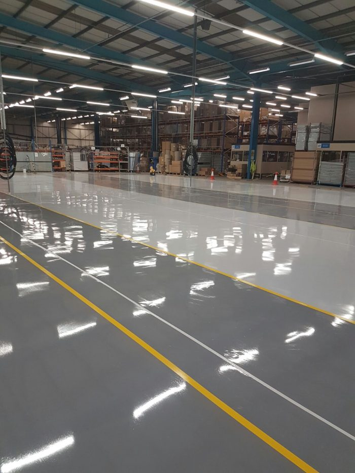flexible resin flooring