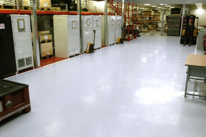 Warehouse Floor