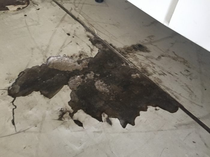 concrete damage