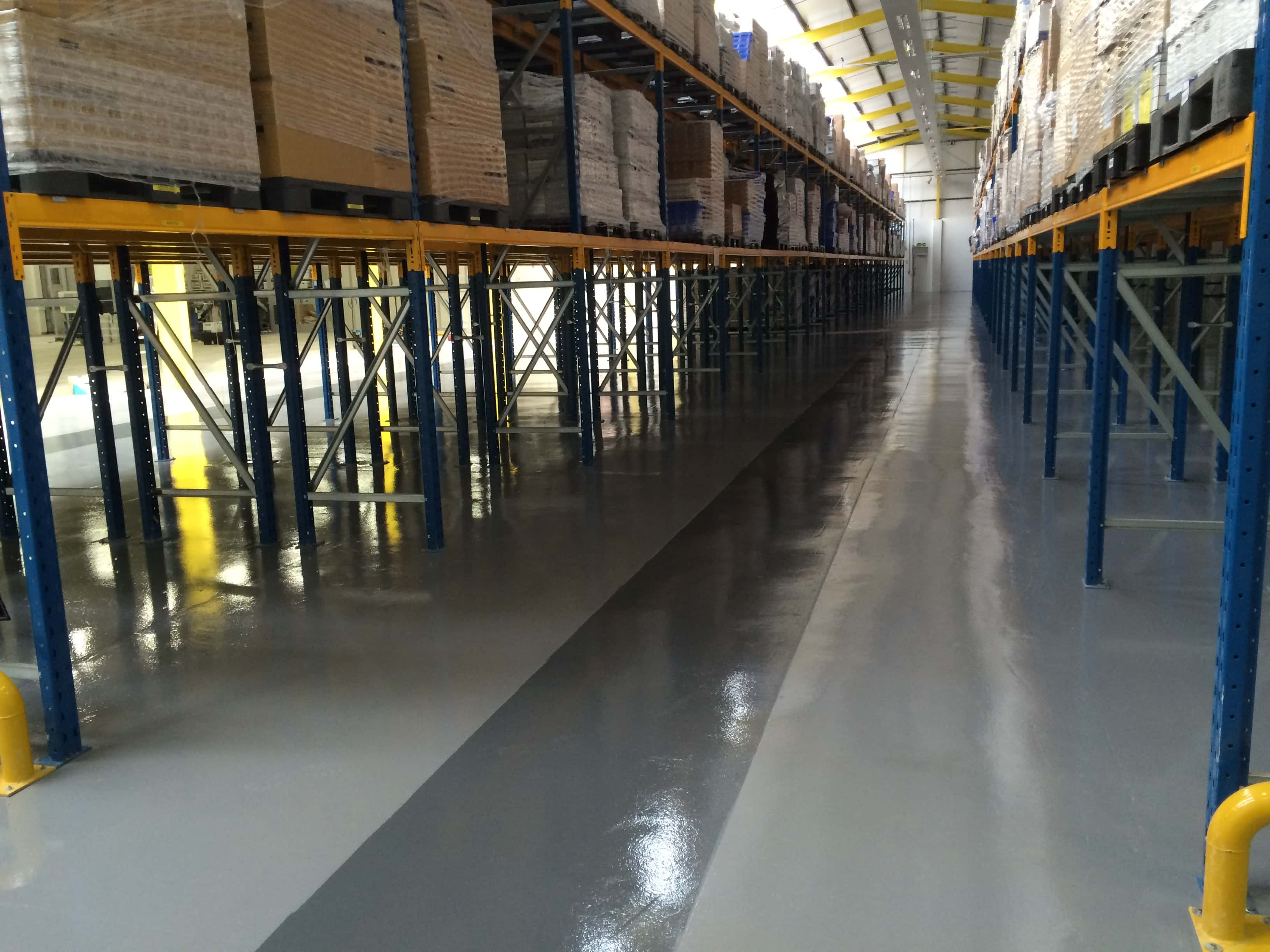 Epoxy Industrial Floor Coating Impact Flooring